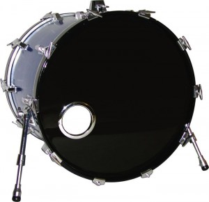 Bass Drum with hole cut out
